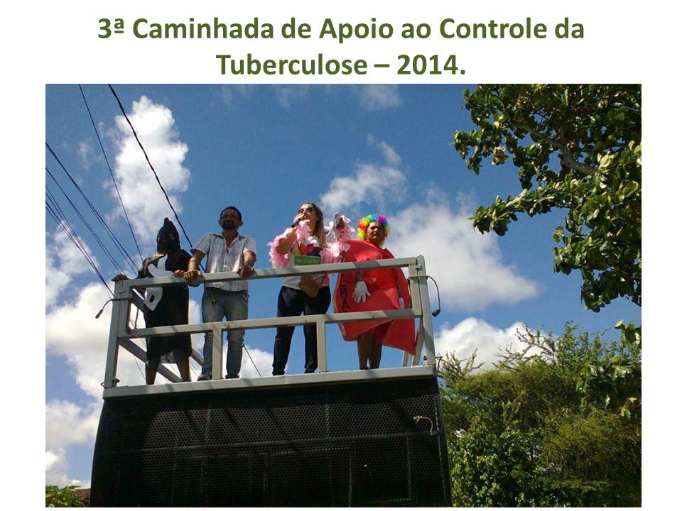 3ª Caminhada de Apoio ao Controle da Tuberculose – 2014.