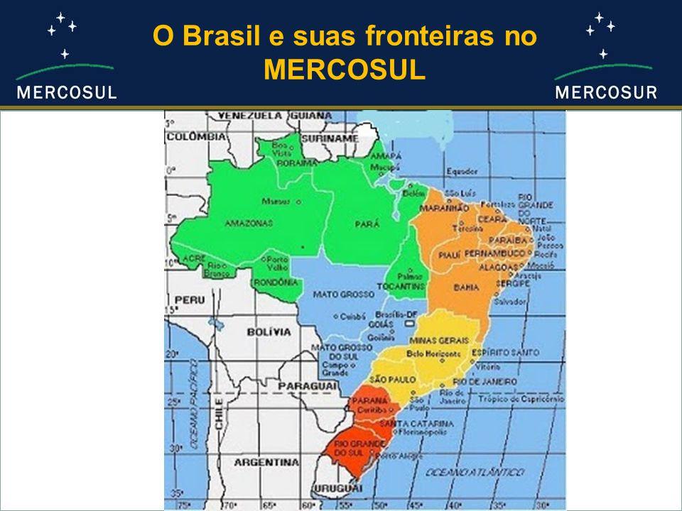 O Brasil e suas fronteiras no MERCOSUL