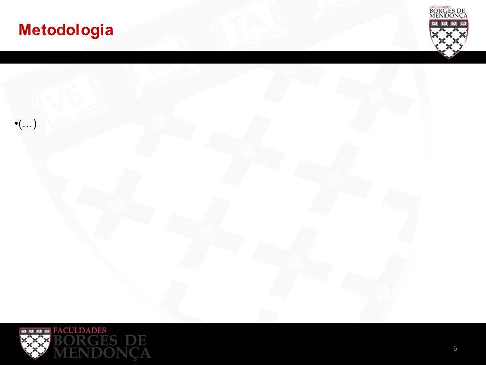 Metodologia (...) 6
