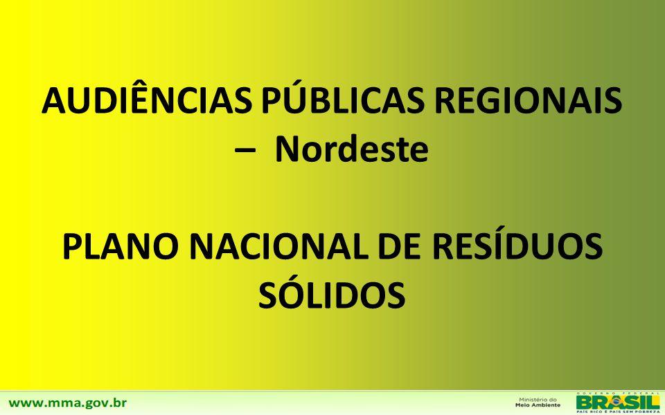 Estudos de Regionalização em 100% dos Estados até 2012