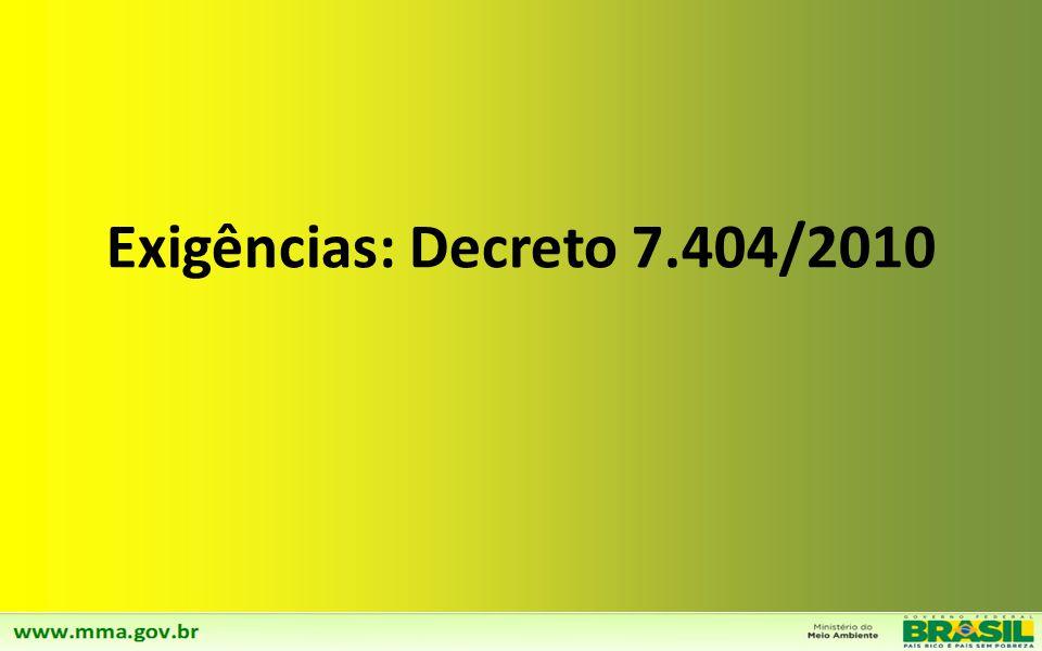 Diretriz 05: Ampliação da Logística Reversa para todas as categorias de Resíduos Agrosilvopastoris Implementação da logística reversa para todas as categorias de agrosilvopastoris até 2024 Estratégias : a)Estabelecimento de programa junto às associações/cooperativas rurais objetivando a divulgação de proposta para separação e devolução dos resíduos de materiais plásticos e metálicos provenientes das atividades de irrigação, cultivo protegido, embalagens de fertilizantes e de sementes, sucatas de máquinas e equipamentos, a)Identificação dos municípios ou regiões com maior volume de resíduos e proposição de soluções regionalizadas.