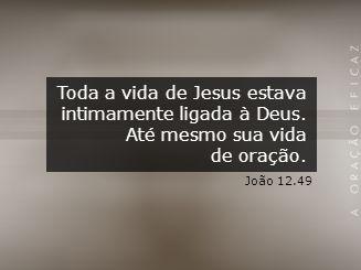 Jesus sabia a posição em que Ele se encontrava diante do Pai.