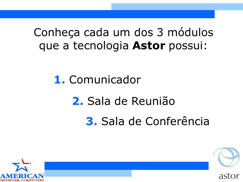 2.Sala de Reunião Possibilita apresentações de dados, gráficos, estatísticas, etc.