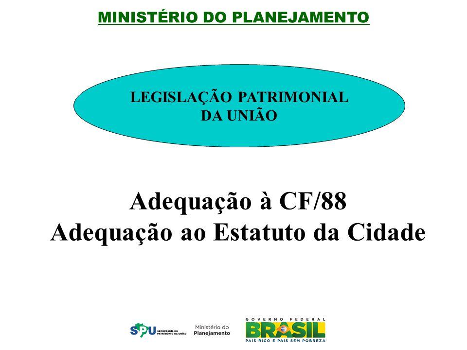 MINISTÉRIO DO PLANEJAMENTO CONCESSÃO DE DIREITO REAL DE USO (CDRU) EM ÁREAS DA UNIÃO