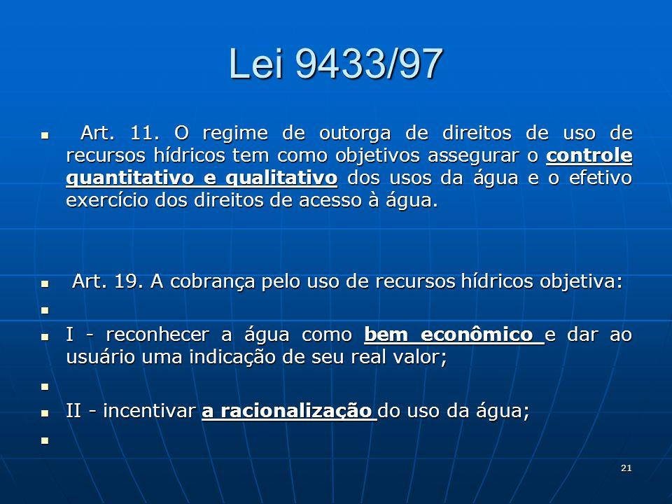 Lei 9433/97 Art.11.