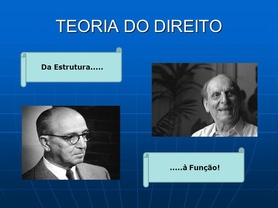 TEORIA DO DIREITO Da Estrutura..........à Função!