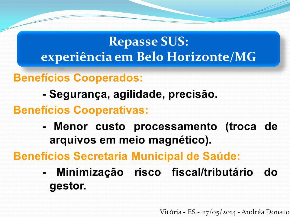 Benefícios Cooperados: - Segurança, agilidade, precisão. Benefícios Cooperativas: - Menor custo processamento (troca de arquivos em meio magnético). B