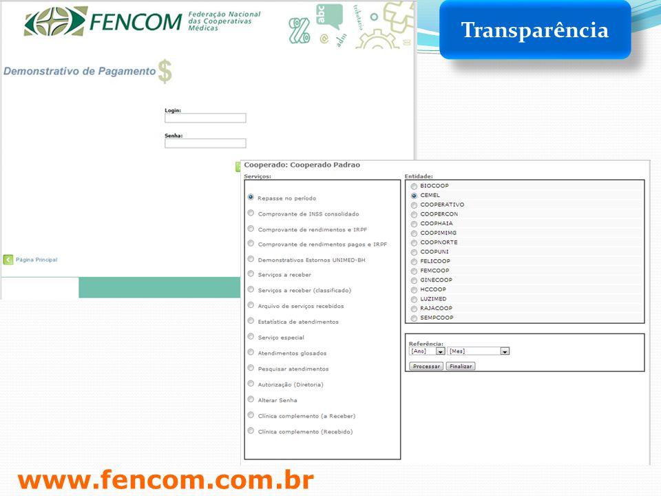 www.fencom.com.br Transparência