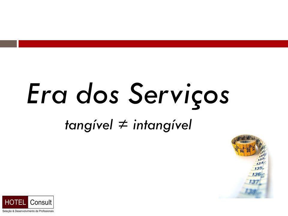 Era dos Serviços tangível ≠ intangível