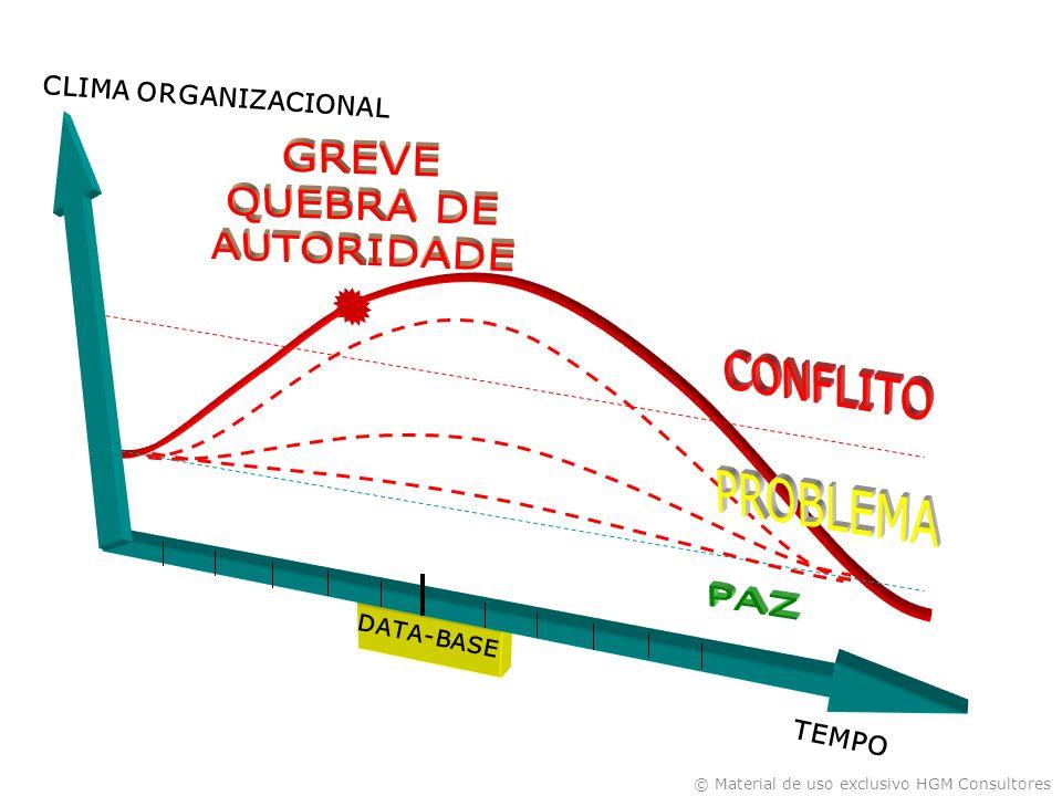© Material de uso exclusivo HGM Consultores DATA-BASE CLIMA ORGANIZACIONAL TEMPO