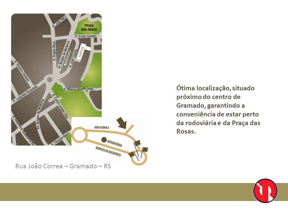 Ótima localização, situado próximo do centro de Gramado, garantindo a conveniência de estar perto da rodoviária e da Praça das Rosas. Rua João Correa