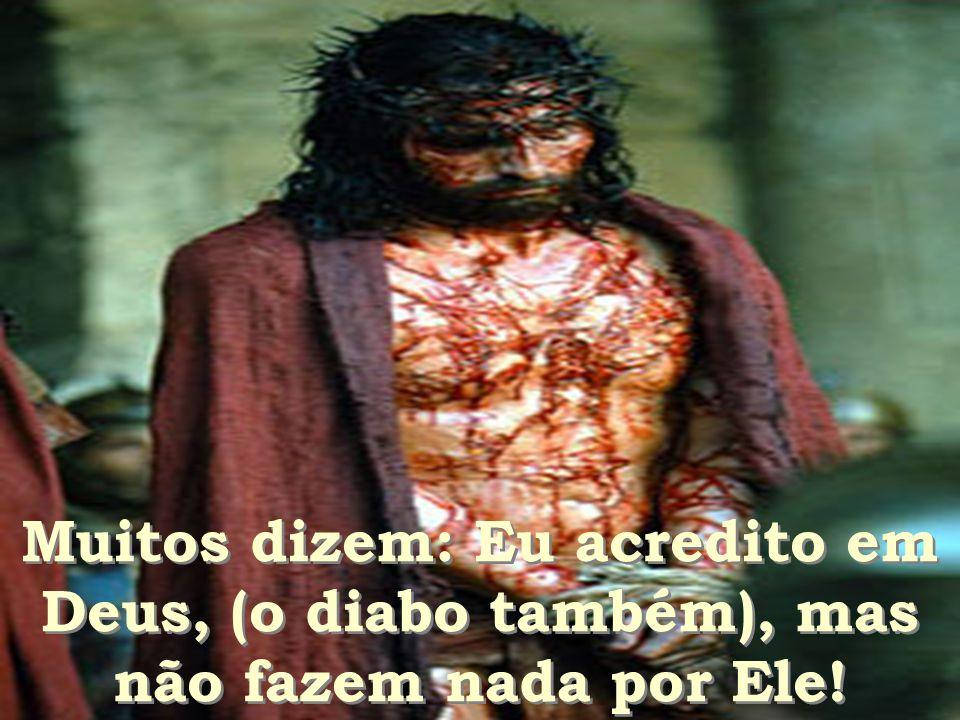 Todos querem um dia estar com Jesus, mas não querem conhecê-lo e amá-lo. Todos querem um dia estar com Jesus, mas não querem conhecê-lo e amá-lo.
