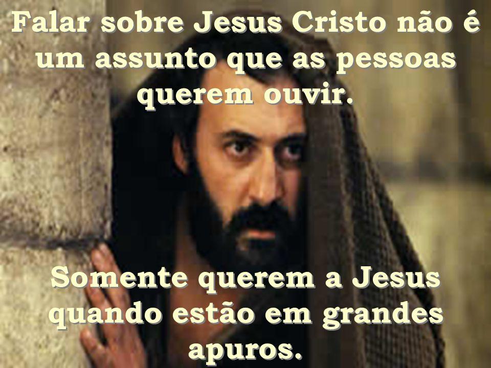 Tentam ser invisíveis quando se trata de Jesus Cristo! Porquê? Tentam ser invisíveis quando se trata de Jesus Cristo! Porquê?