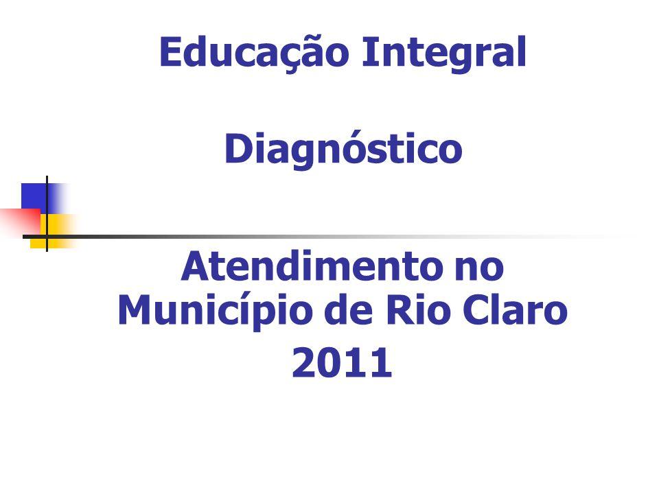 Educação Integral Diagnóstico Atendimento no Município de Rio Claro 2011