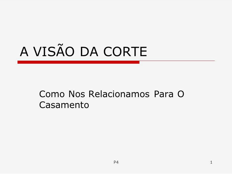 P6142 XIV - CHECANDO A MATURIDADE PARA O CASAMENTO.