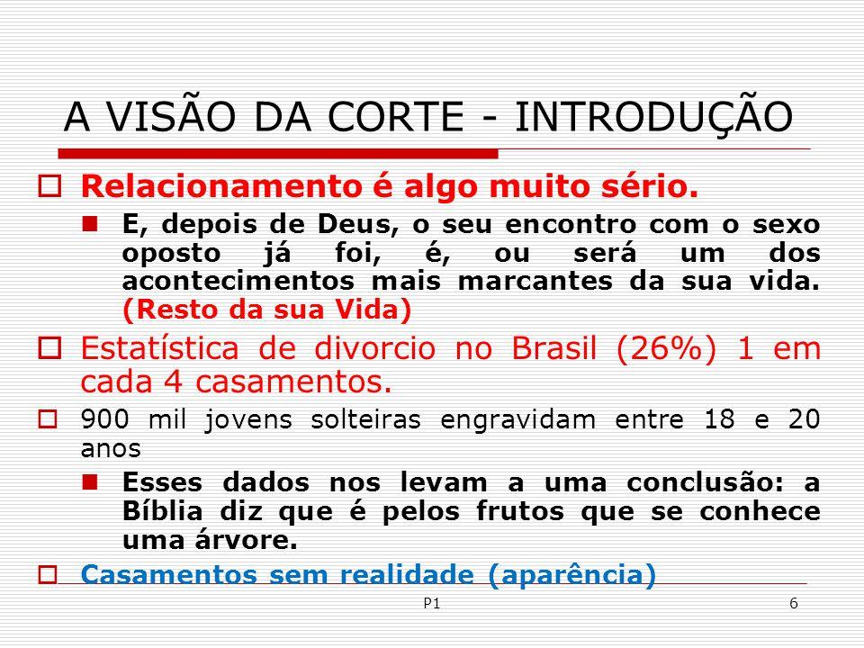 P6157 XV - DA CÔRTE AO CASAMENTO PASSO A PASSO.A.