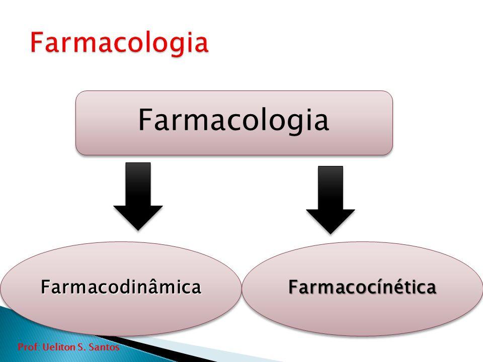 Farmacologia FarmacodinâmicaFarmacodinâmicaFarmacocínéticaFarmacocínética Prof: Ueliton S. Santos