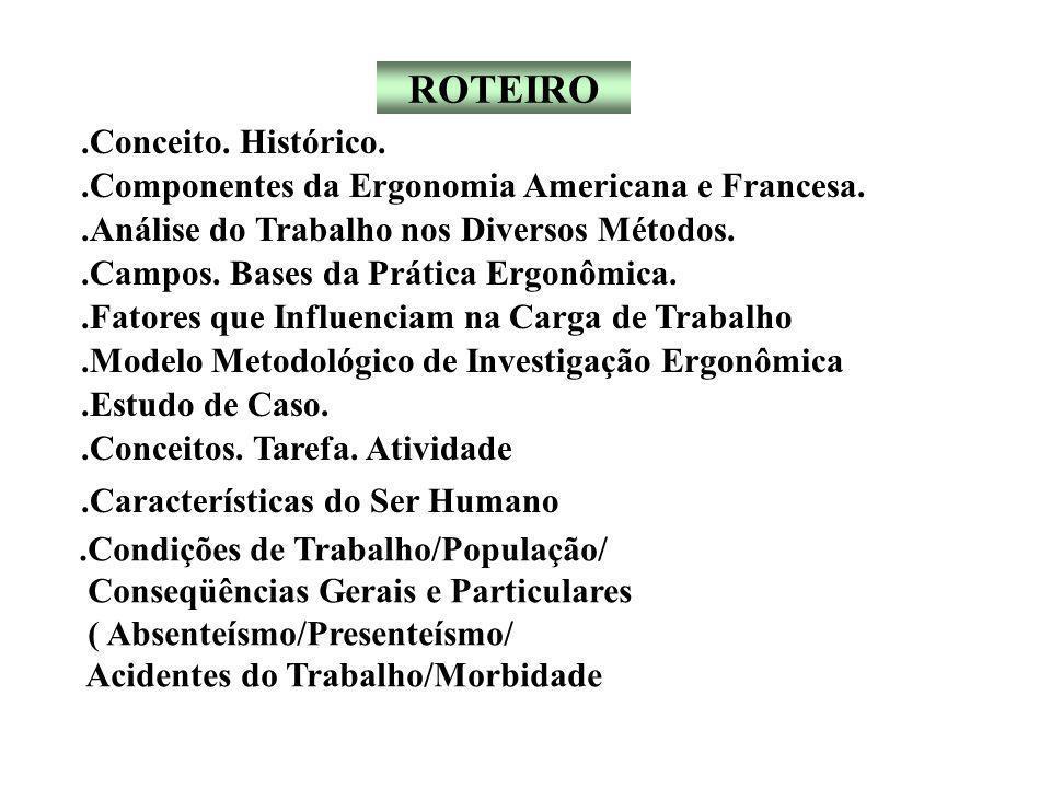 QUEIXAS MAIS FREQÜENTES RELACIONADAS A ORGANIZAÇÃO DO TRABALHO.