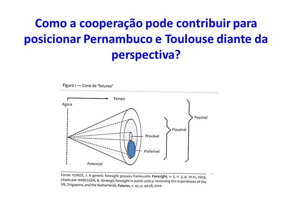 Como a cooperação pode contribuir para posicionar Pernambuco e Toulouse diante da perspectiva?