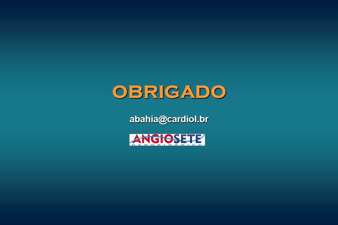 OBRIGADO abahia@cardiol.br