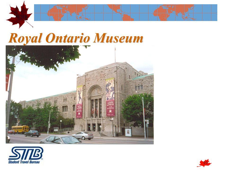 10 Royal Ontario Museum