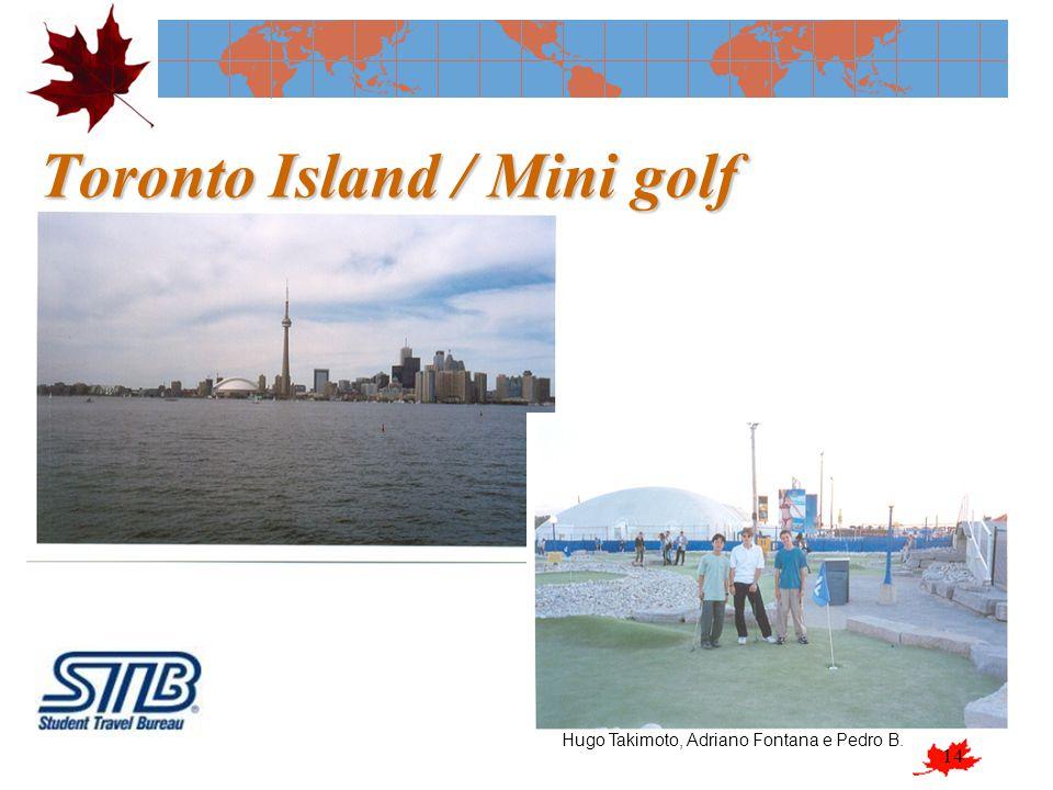 14 Toronto Island / Mini golf Hugo Takimoto, Adriano Fontana e Pedro B.