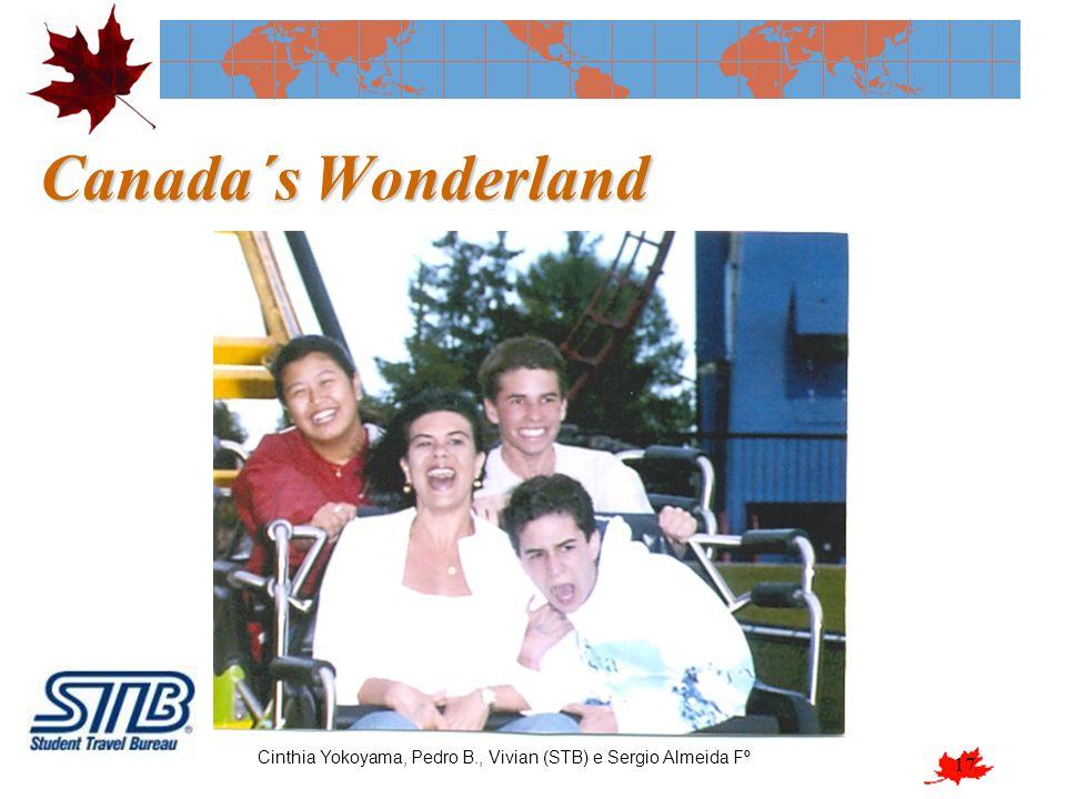 17 Canada´s Wonderland Cinthia Yokoyama, Pedro B., Vivian (STB) e Sergio Almeida Fº
