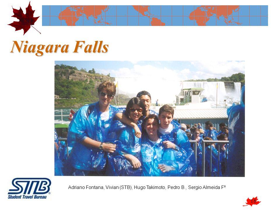 18 Niagara Falls Adriano Fontana, Vivian (STB), Hugo Takimoto, Pedro B., Sergio Almeida Fº