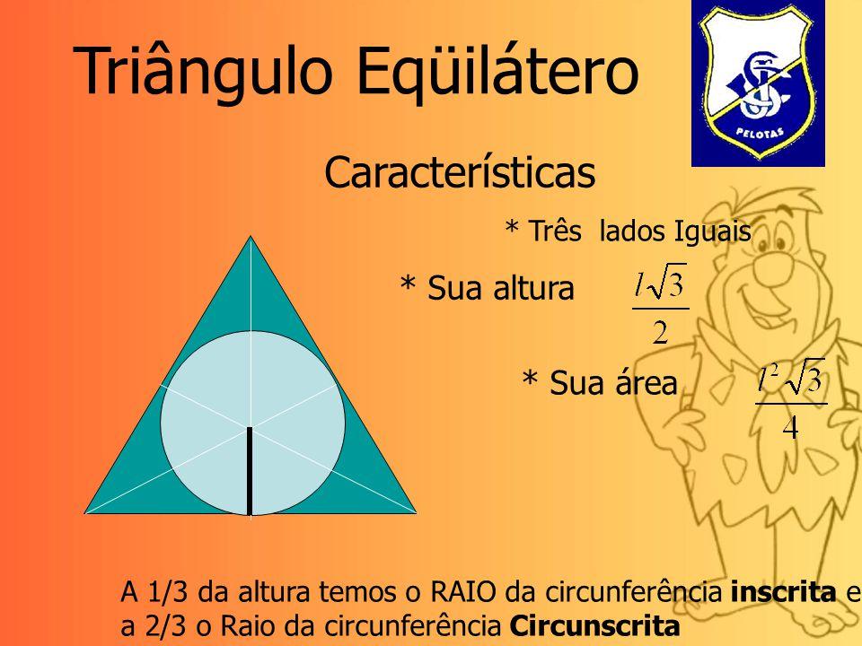 Triângulos Retângulos na Hexagonal