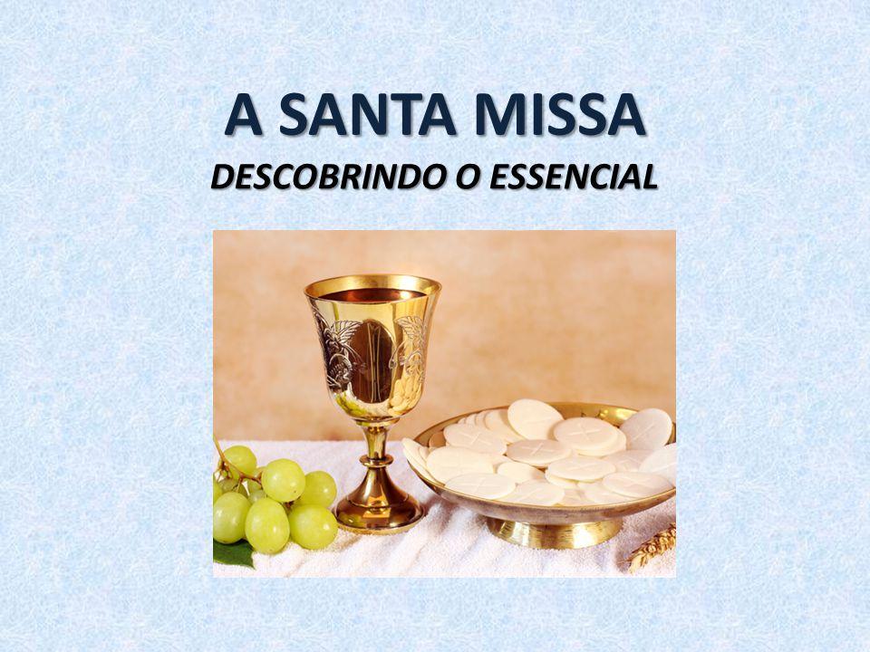 Apresentação Compreender o coração da Missa; Penetrar em sua profundidade; Atenção: O Essencial é invisível aos olhos!; A Santa Missa é um mistério de fé.