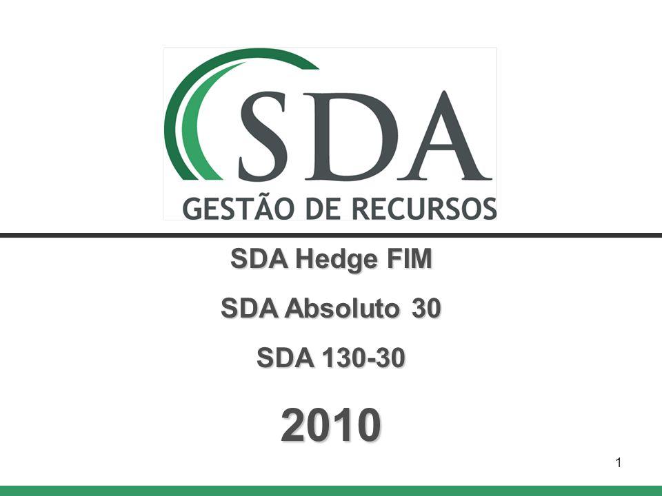 1 SDA Hedge FIM SDA Absoluto 30 SDA 130-30 2010