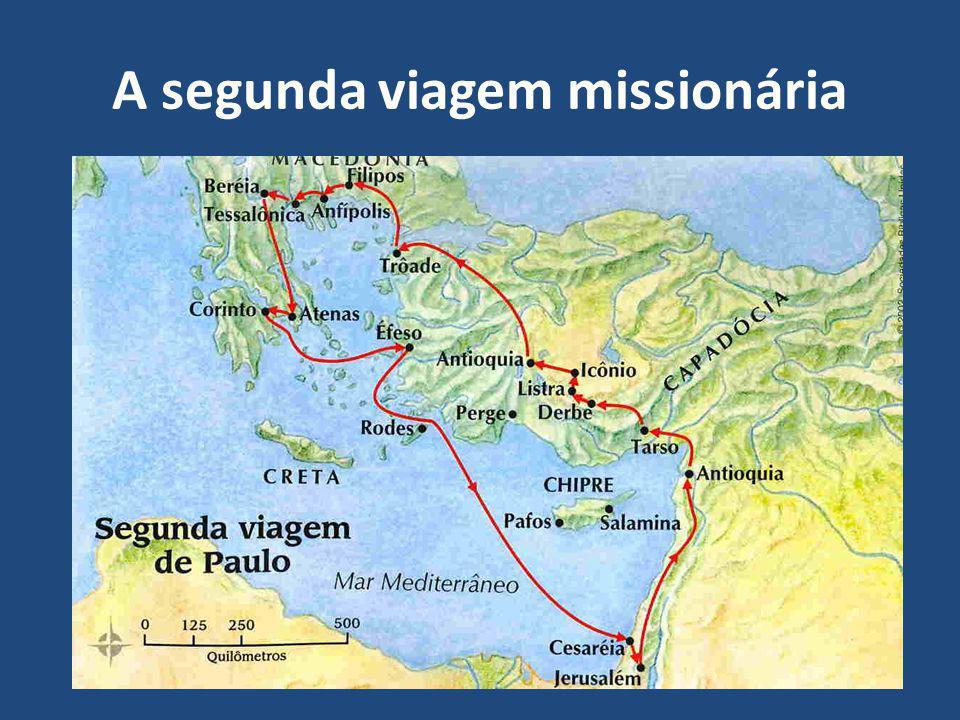 A segunda viagem missionária