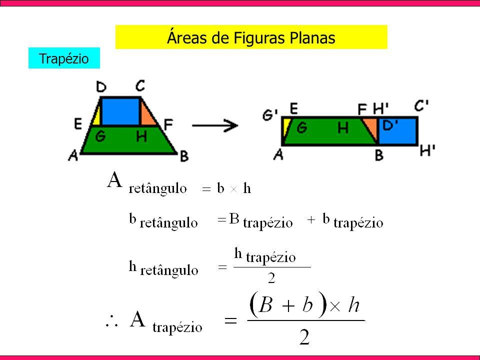 Áreas de Figuras Planas Trapézio
