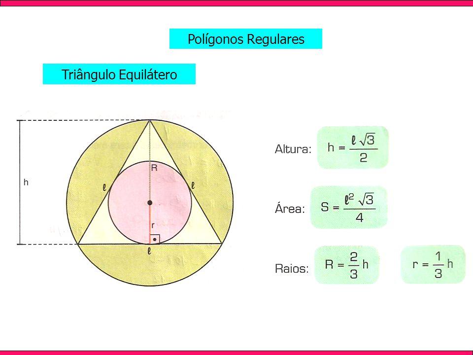 Triângulo Equilátero Polígonos Regulares