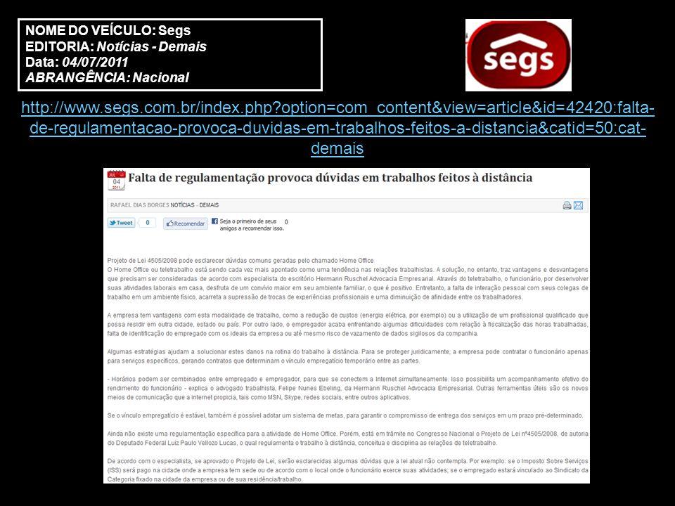 NOME DO VEÍCULO: Segs EDITORIA: Notícias - Seguros Data: 18/08/2011 ABRANGÊNCIA: Nacional http://www.segs.com.br/index.php?option=com_content&view=article&id=46908:mediac ao-e-arbitragem-solucoes-inteligentes-para-resolver-pequenas-divergencias-com- empresas-&catid=45:cat-seguros&Itemid=214