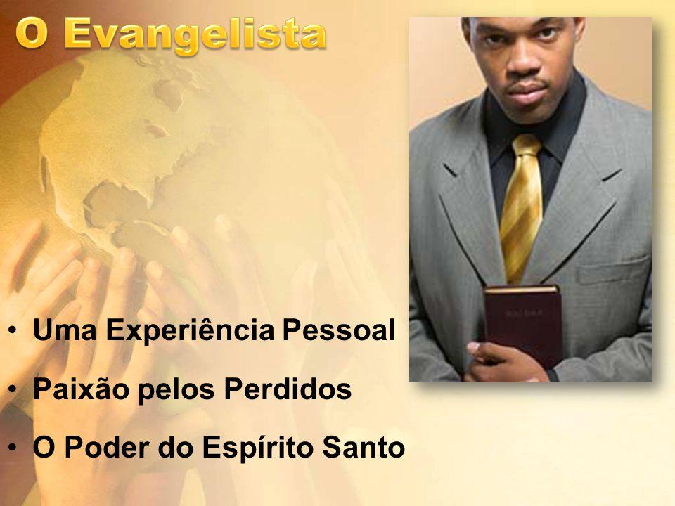 Uma Experiência Pessoal Paixão pelos Perdidos O Poder do Espírito Santo