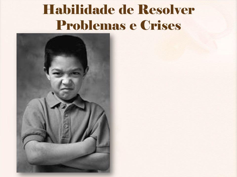 Habilidade de Resolver Problemas e Crises