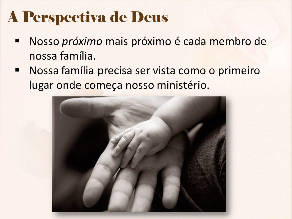 Conclusão Deus criou a Família como alicerce para toda a vida humana.