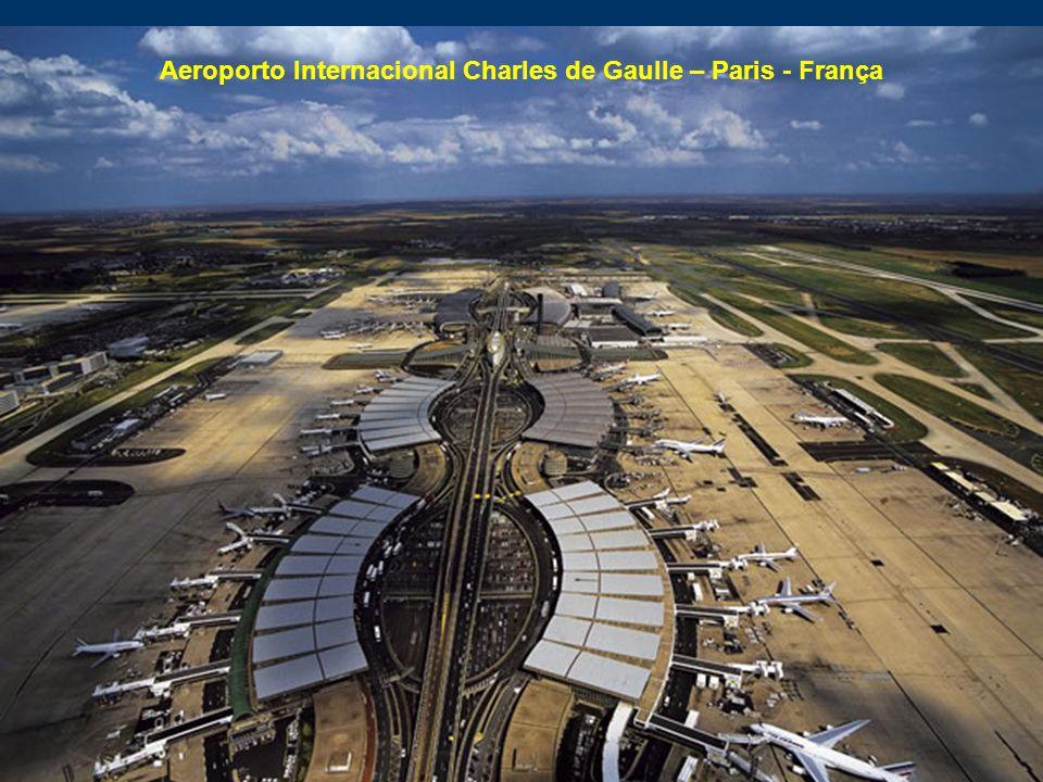 Aeroporto Internacional Charles de Gaulle – Paris - França