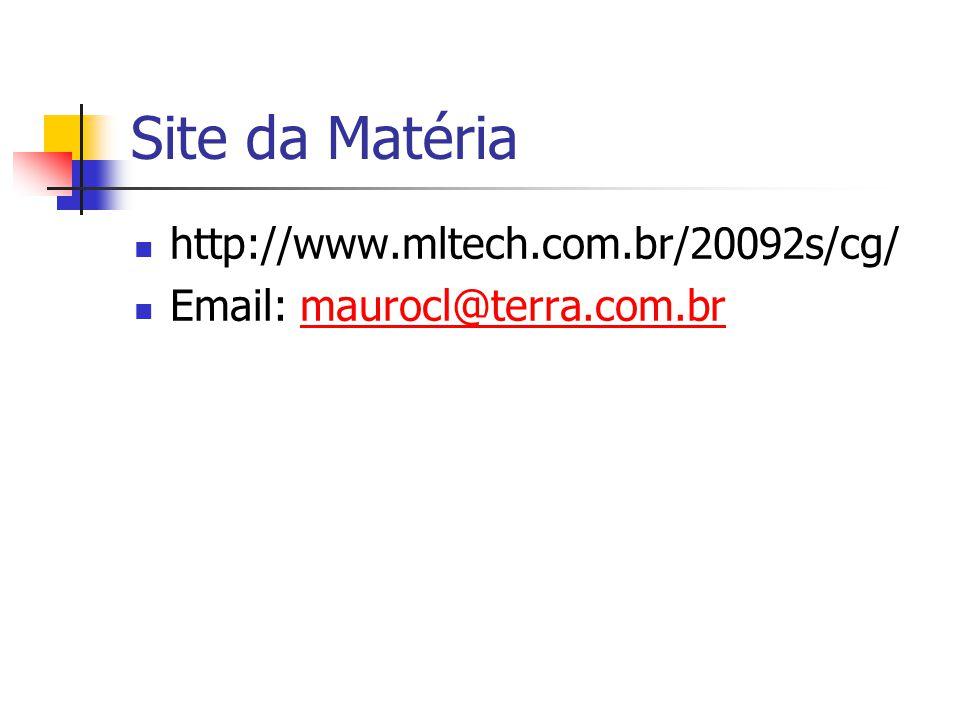 Site da Matéria http://www.mltech.com.br/20092s/cg/ Email: maurocl@terra.com.brmaurocl@terra.com.br