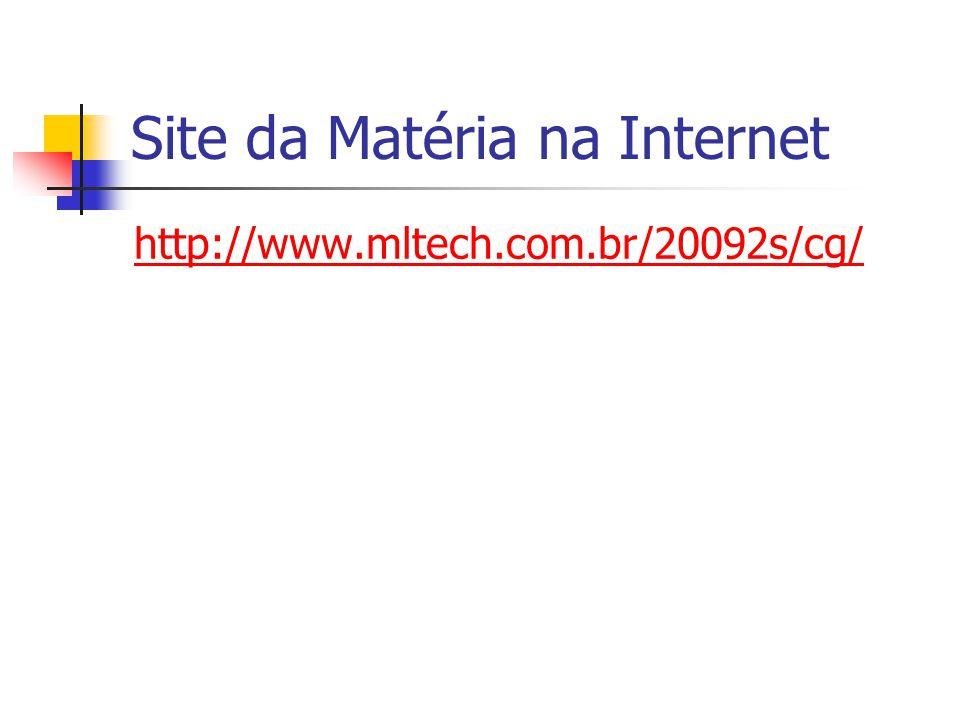 Site da Matéria na Internet http://www.mltech.com.br/20092s/cg/