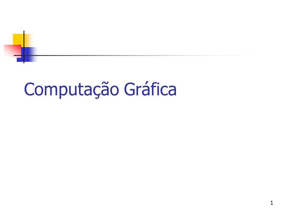 1 Computação Gráfica