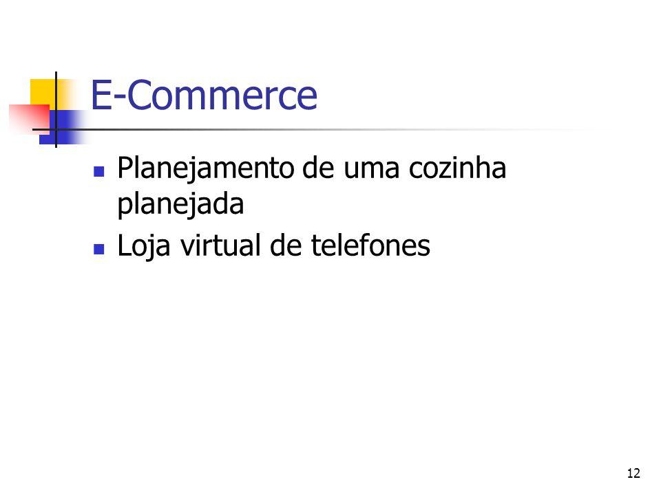 12 E-Commerce Planejamento de uma cozinha planejada Loja virtual de telefones