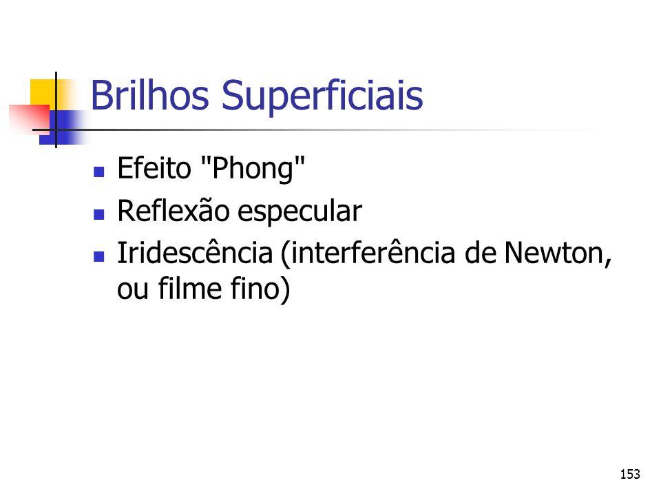 153 Brilhos Superficiais Efeito