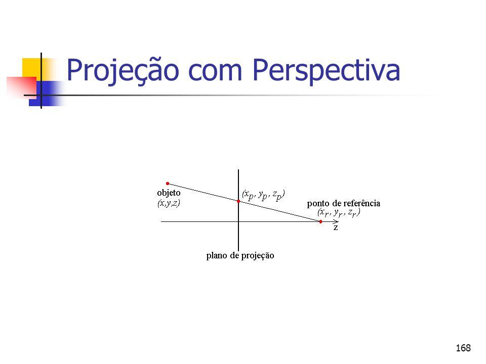 168 Projeção com Perspectiva