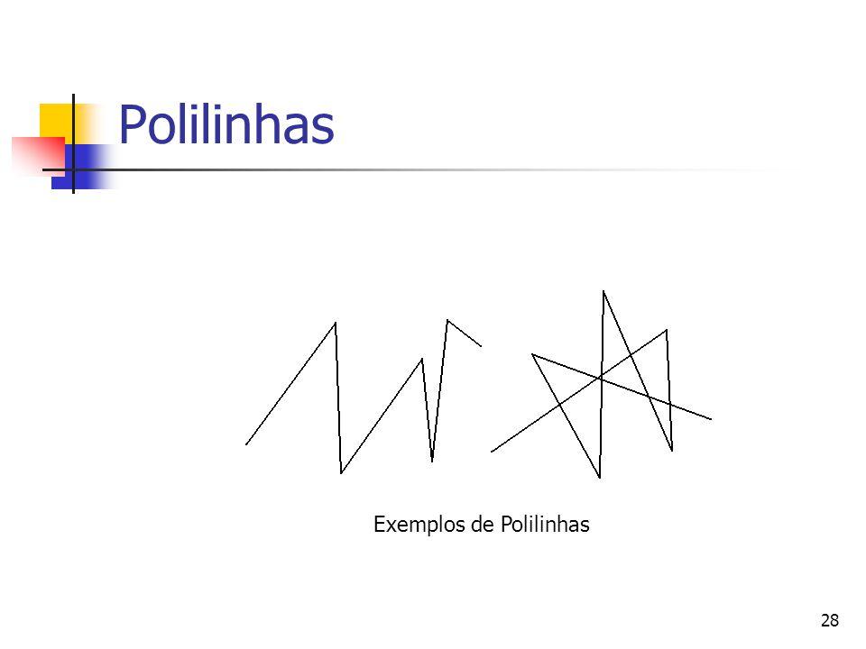 28 Polilinhas Exemplos de Polilinhas