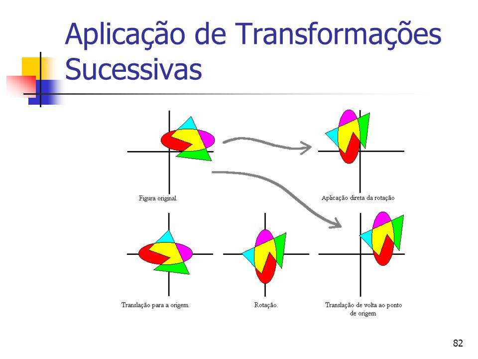 82 Aplicação de Transformações Sucessivas
