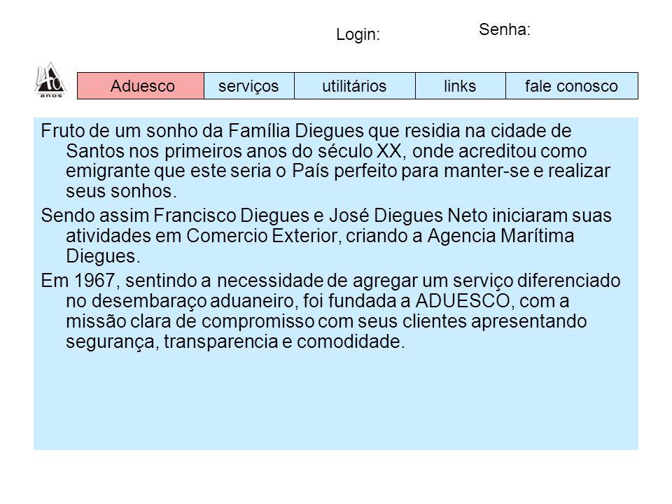 Fruto de um sonho da Família Diegues que residia na cidade de Santos nos primeiros anos do século XX, onde acreditou como emigrante que este seria o P