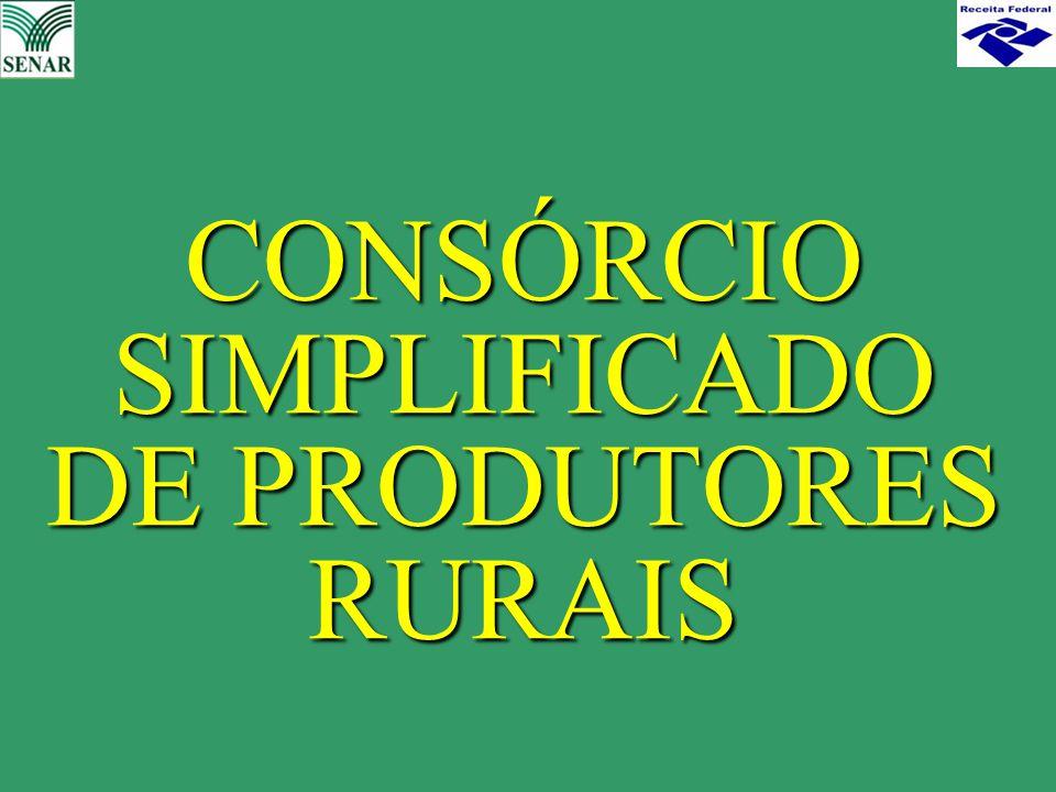 CONSÓRCIO SIMPLIFICADO DE PRODUTORES RURAIS