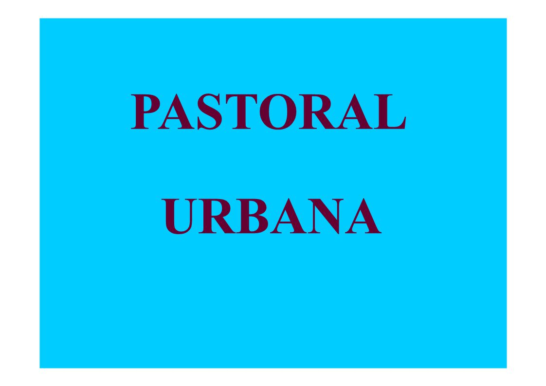 PASTORAL URBANA 3.